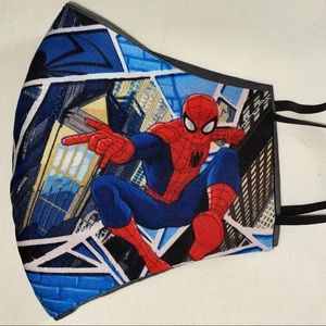 Spider-Man face mask